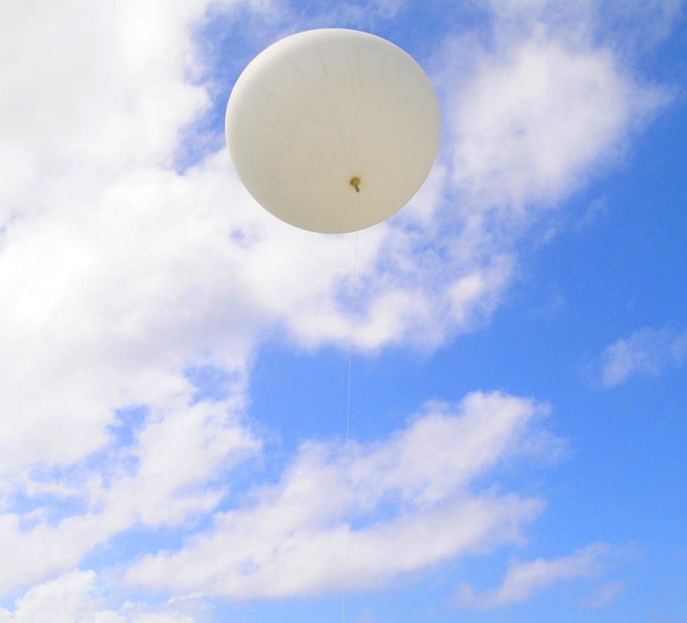 Ballonbestattung