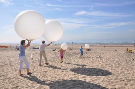 Helium Ballon Bestattung
