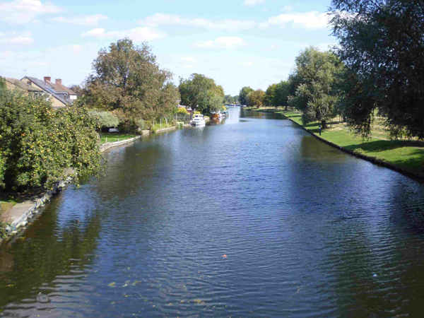 Flussbestattung in NL