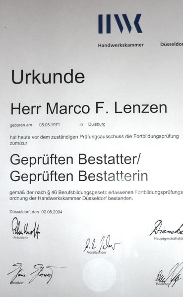 Bestatter Duisburg